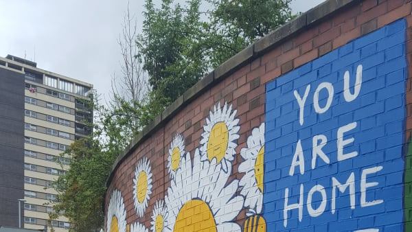 Murals and symbolism in Rochdale