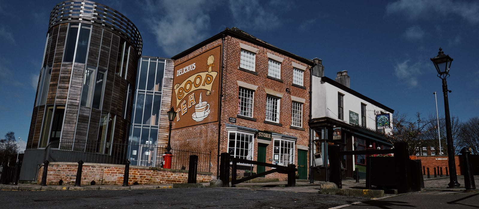 Image of Rochdale Pioneers Museum building at 31 Toad Lane in Rochdale.